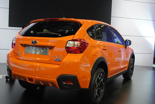 Subaru XV at the Frankfurt Motor Show IAA 2011