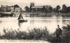 Isleworth Church Prior to 1918 (pepandtim) Tags: world old paris france church monochrome weather thames river fire one 1 louis early spring war postcard great attack battle front richmond nostalgia german western second nostalgic ww1 wimbledon offensive epsom hounslow spicer 1943 1918 flanders isleworth marne ashtead counterattack lévy ludendorff 67rtr82 15071918