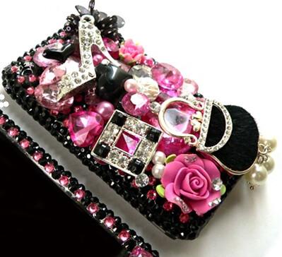 black shoes & bag
