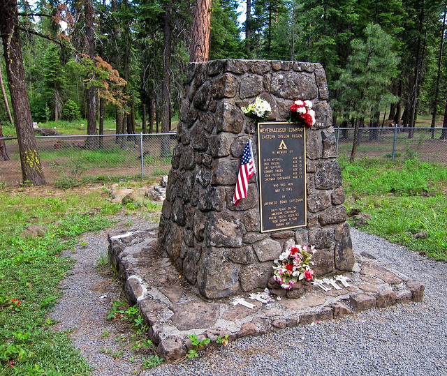 Mitchell Monument, Bly, Oregon