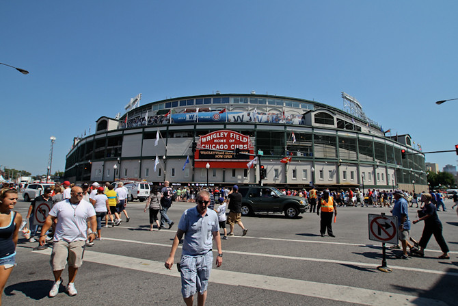 Wrigley Field Intersection