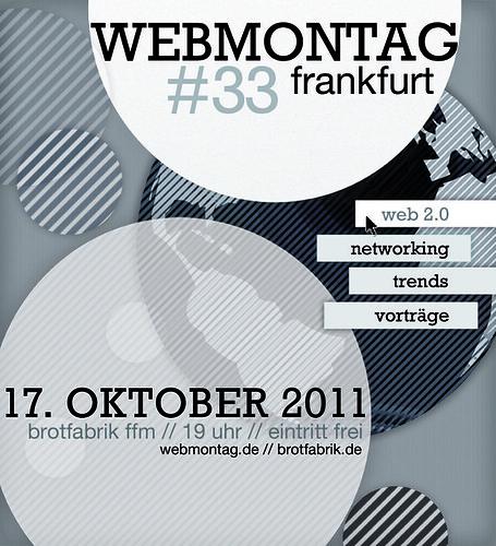 Webmontag 33 in Frankfurt