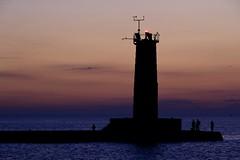 DSC_7826 (DevilDucMike) Tags: morning lighthouse sunrise nikon fishermen lakemichigan sheboygan beacon d3100 devilducmike