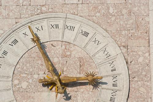 Krk town clock