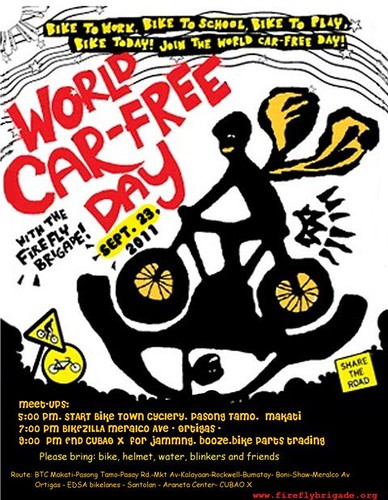 World Car-Free Day 2011