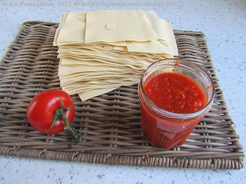 Tomatensauce, einfache italienische