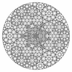 Fractal Circle Fractal apollonian gasket
