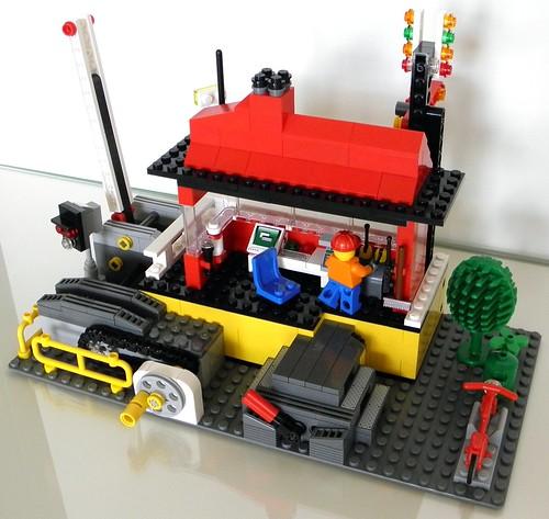 Signal Cabin 3 - Rear View