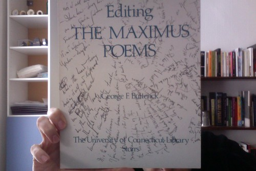 Editing The Maxiumus Poems by Michael_Kelleher