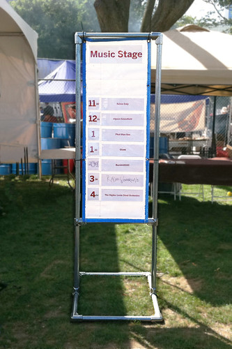 Maker Fiare Event Signage Supports