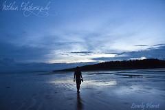 Lonely Planet (Mithun Kundu) Tags: blue sea sky cloud beach dawn sand niceshot dusk planet lonely