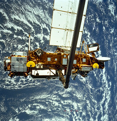 NASA's Upper Atmosphere Research Satellite, or...