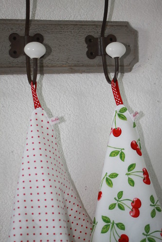 Litte kitchen towel by sewingamelie by liebesgut
