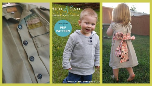 Heidi and Finn collage