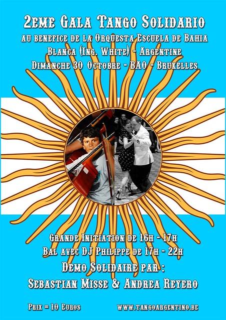 2ème Gala Tango Solidario @ BaO