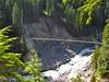 Tahoma Creek Suspension Bridge (Posti8) Tags: bridge camping washington nationalpark hiking mountrainier rainier mountrainiernationalpark mtrainier suspensionbridge mtrainiernationalpark wonderlandtrail tahomacreek tahomacreekbridge