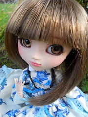 Me - Pullip FC. (Nanaho ) Tags: make up full custo acrylics sbh obitsu papin 27cm me azazelle