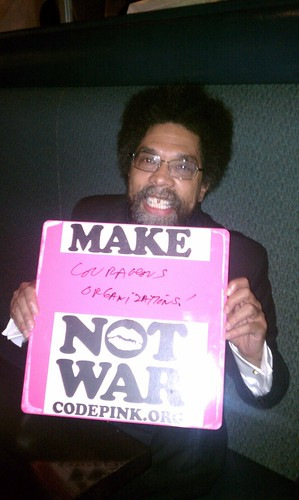 Cornell West, Make Courageous Organizations! Not War