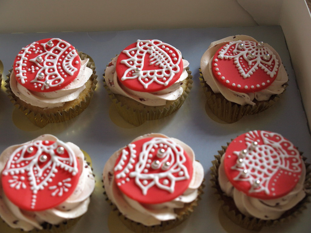 Mehndi Cupcakes : The world s most recently posted photos of cupcakes and