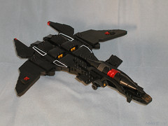 Nachtkrapp (Mechanekton) Tags: anime fighter lego space aircraft jet scifi mave supersonic ramjet yukikaze