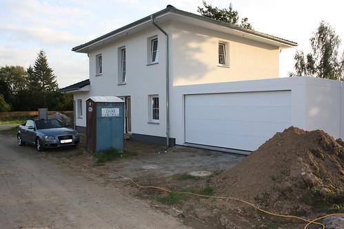 Garage von außen