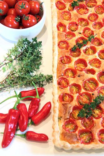 summer tomato tart 2829 R