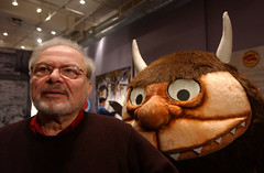 Sendak with a beloved character