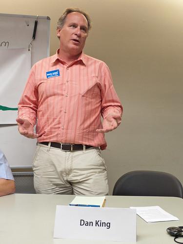 Candidate Dan King