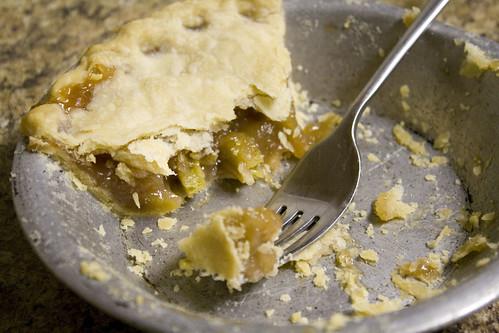I decided to find myself a rhubarb pie recipe Rhubarb Pie Recipe {my favorite pie EVER}