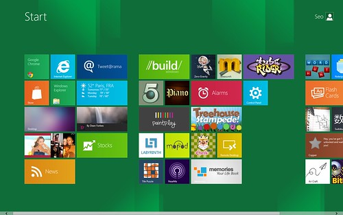 Windows 8 Preview Menu by Ceo1O17, on Flickr