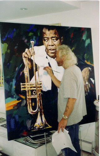 Ygartua painting Louis Armstrong