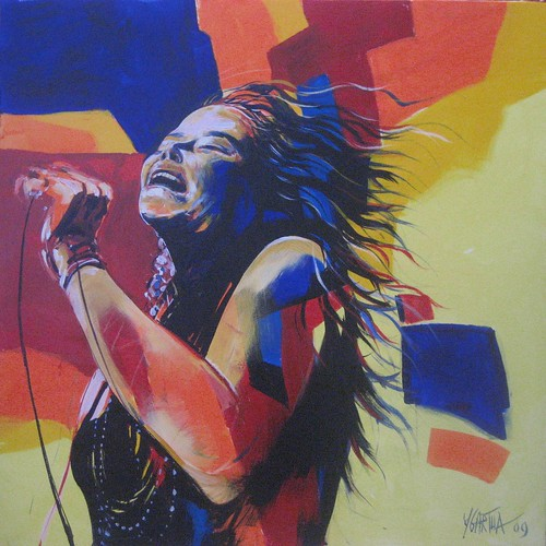 Music Icon - Painting - Modern Expressionism