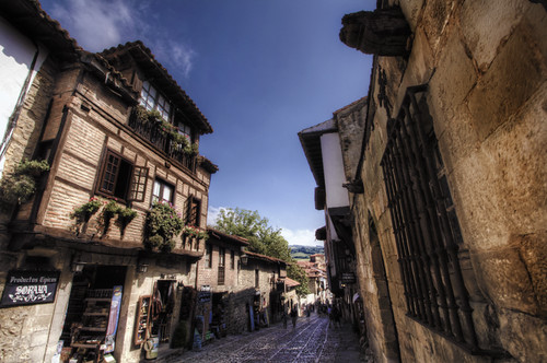 Street. Santillana del Mar. Calle