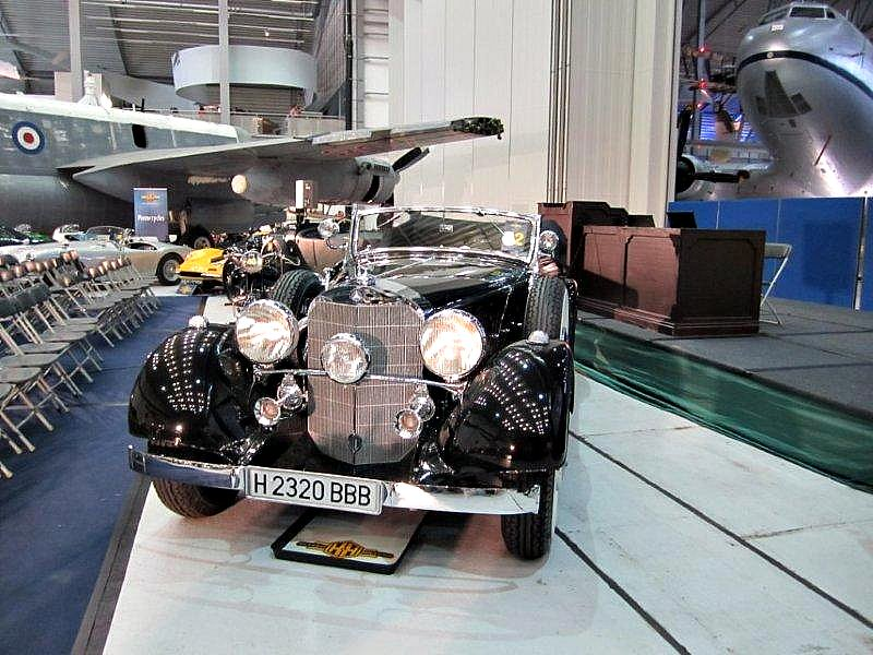 1937 Mercedes-Benz 500K  Cabriolet C  H2320 BBB - Not sold at Duxford