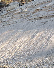 Coastal Bluff with Glacial Outwash and Talus (sandy richard) Tags: geology wildwood wildwoodstatepark newyorkstateparks longislandbeaches sandyrichard longislandgeology sandrarichard wildwoodstateparkgeology