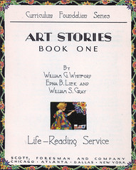 Art Stories Book One Title Page (katinthecupboard) Tags: art reader vintagechildrensbooks childrens vintage illustrations vintagechildrensprimer vintagechildrenstextbooks vintagechildrensreaders vintagechildrensartbooks
