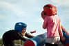 Fighting face (MikaelWiman) Tags: girls playing kids children se sweden karlstad värmland fotosondag fs110925 glajde