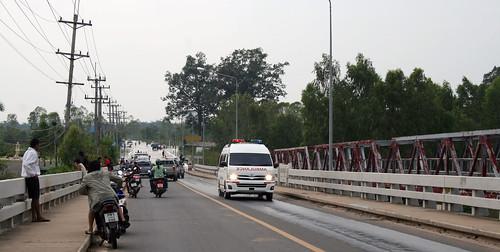 Floods Ubon Ratchathani Thailand 2011