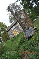 Felts Log House at Ky Museum (King Kong 911) Tags: art history statue museum buildings campus cabin map near kentucky ky displays marker abrahamlincoln wku bowlinggreenky