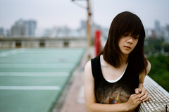 [Free Image] People, Women, Asian Women, Melancholy, 201109280900