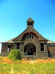 Ghosts of Students Past (Fairlane221) Tags: school abandoned rotting washington empty vacant wa schoolhouse govan