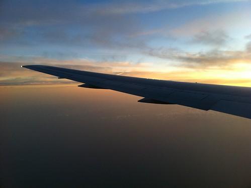 Sunrise almost over