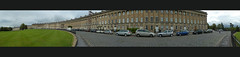 Bath Crescent Panorama (albireo 2006) Tags: uk greatbritain england panorama architecture wow lumix bath unitedkingdom britain somerset crescent royalcrescent kartpostal hccity