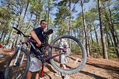 Troop 365 Scouts Teach Webelos - Lost Pines Scout Reserve: Bastrop, TX (motleypixel) Tags: training texas boyscouts manualfocus webelos bastrop 2011 ultrawidean