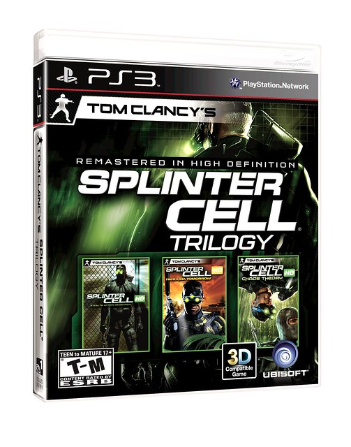 Tom Clancy's Splinter Cell Trilogy for PS3