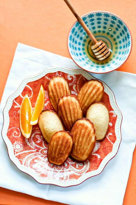 orange and honey madeleines-7