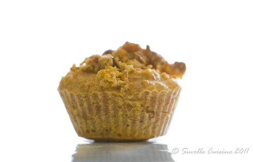 Muffins Integrais de Muesli e Pêra / whole wheat muesli pear muffins