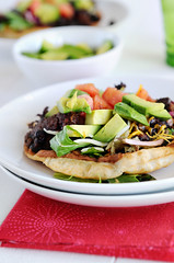 Beef Tostada Recipe (dineanddish) Tags: food recipe mexican taco tostada foodphotography