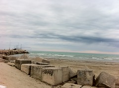 Senigallia uggiosa part IV (Gianmarco Ferro) Tags: sea panorama cloud beach clouds port landscape seaside nuvole mare cloudy porto spiaggia molo paesaggio senigallia iphone ferro nuvoloso gianmarco yanne iphoneography gianmarcoferro yannemareco yanneferro