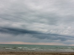 Senigallia uggiosa part III (Gianmarco Ferro) Tags: sea panorama cloud beach clouds port landscape seaside nuvole mare cloudy porto spiaggia molo paesaggio senigallia iphone ferro nuvoloso gianmarco yanne iphoneography gianmarcoferro yannemareco yanneferro